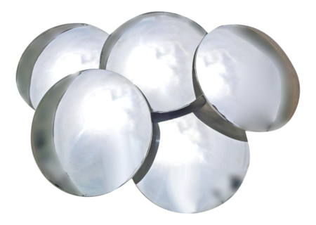 Reggiani Convex Mirrored Sconce