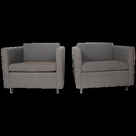 Charles Pfister Club Chairs