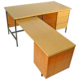 Florence Knoll Desk and Return