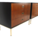 Three-Drawer Chests by Harvey Probber