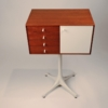 George Nelson Thin Edge Jewelry Chest Model 5211 for Herman Miller in Teak