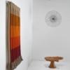 'Orange Gradient' by Fiber Artist Jane Knight