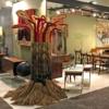 The Tree Freestanding Fiber Art Sculpture by Jane Knight