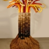 The Tree Freestanding Fiber Art Sculpture by Jane Knight