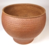 David Cressey Unglazed 'Cheerio' Ceramic Planter for Architectural Pottery