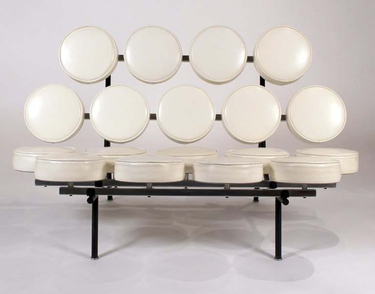 Early Marshmallow Sofa By George Nelson For Herman Miller 20c Design