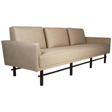 Three Seat Sofa Designed by Michael Taylor for Baker