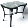Philip and Kelvin LaVerne Pompadour Occasional Table in Patinated Bronze