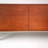 Florence Knoll Architectural Table Bench in Walnut for Knoll