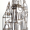 Brutalist Marcello Fantoni Brazed Wire Palace Sculpture