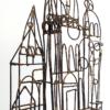 Brutalist Marcello Fantoni Brazed Wire Palace Sculpture
