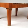 1960s Baker Silver Label Onyx and Mahogany Coffee Table