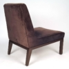 Edward Wormley Slipper Chairs for Dunbar
