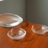 Vintage Scandinavian Tapio Wirkkala Glass Leaf Collection