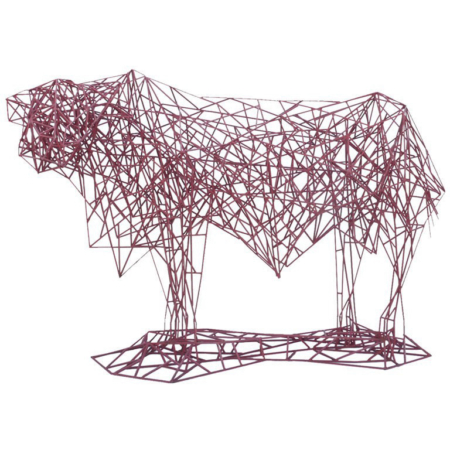 Mark Doyle Bull Sculpture