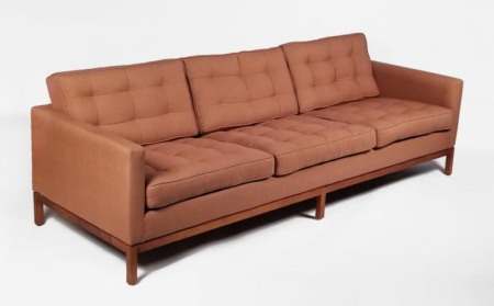 Three Seat Sofa designed by Florence Knoll for Knoll International
