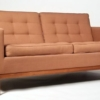 Two seat sofa designed by Florence Knoll for Knoll International