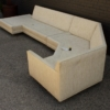Two-Piece Sectional Sofa Designed by Harvey Probber