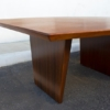 Edward Wormley for Dunbar Walnut and Mahogany Dining / Conference Table