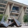 Architectural Bench from the Iconic I.M. Pei Dallas City Hall