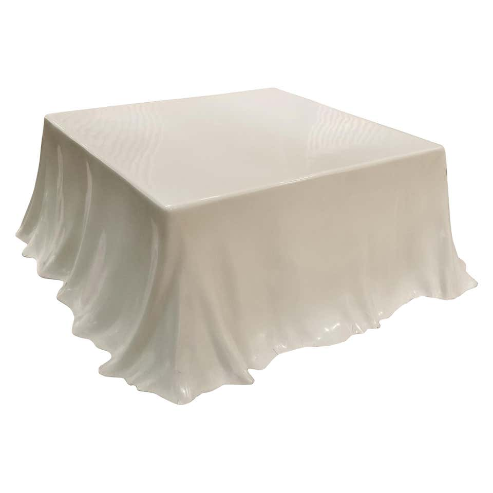 Studio Tetrarch 'Tovaglia' Tablecloth Coffee Table for Alberto Bazzani
