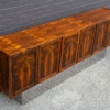Torbjorn Afdal Book-Matched Brazilian Rosewood Cabinet for Bruksbo of Norway