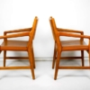 Rare Set of Hans J. Wegner Armchairs from Magasin du Nord