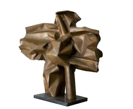 Abbott Pattison Abstract Bronze Sculpture