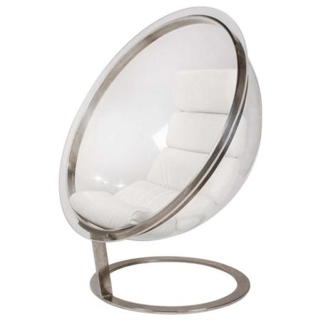Christian Daninos First Edition Acrylic Bubble Chair