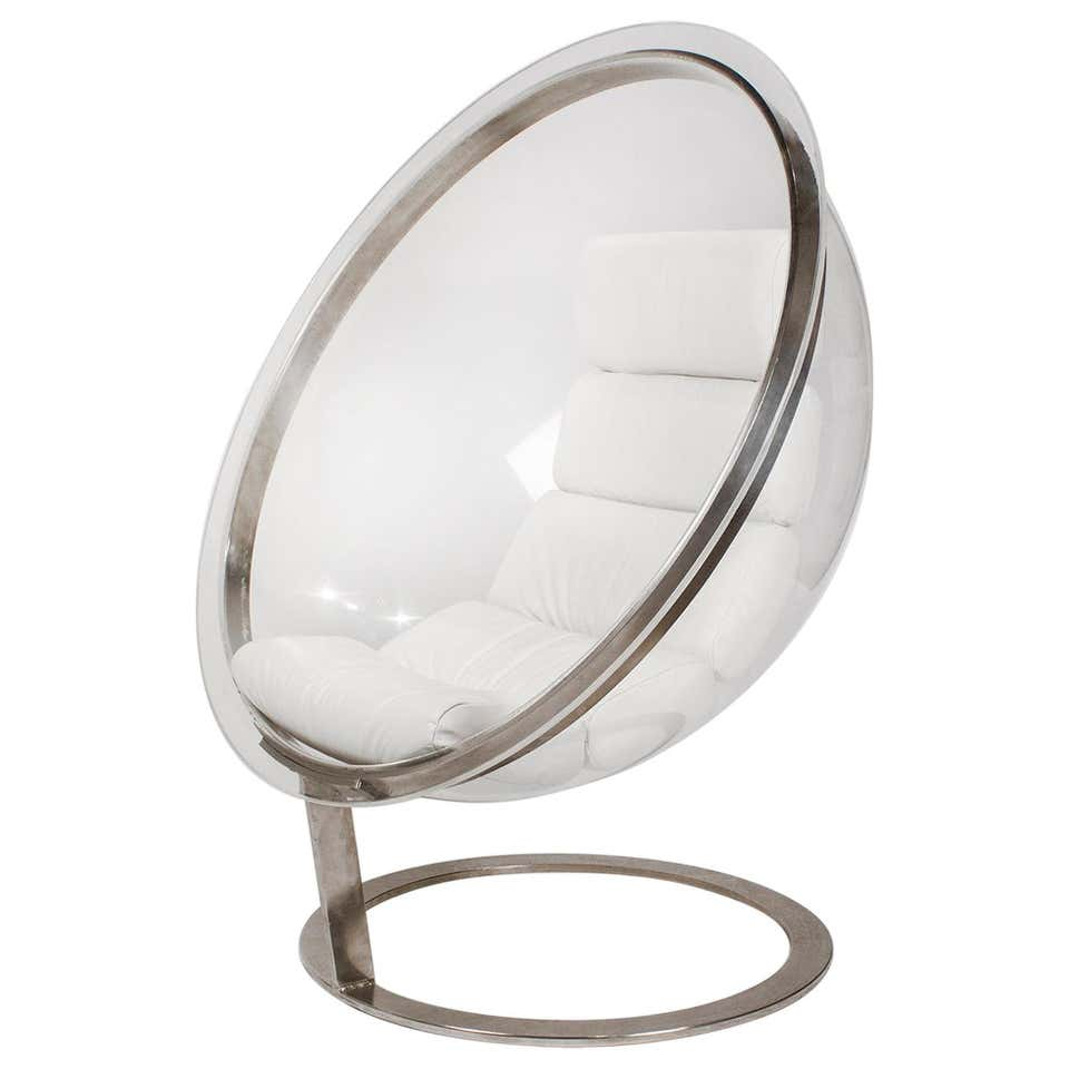 Christian Daninos First Edition Acrylic Bubble Chair