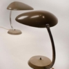 Pair of Greta M Grossman Cobra Lamps Ralph O. Smith Labels Intact