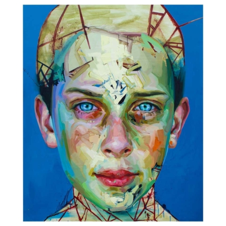 "'Blue Boy"" Painting by Justin Bower"