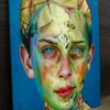 """'Blue Boy"""" Painting by Justin Bower"""
