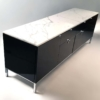 Mid century modern Florence Knoll Style Credenza and File Cabinet by Giacomo Buzzi.