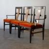 Edward Wormley 3-Seat Bench in Mahogany Dunbar
