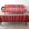 Edward Wormley Open Back Sofas for Dunbar