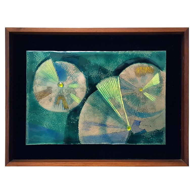 'Abstraction 1' Enamel by Irwin Whitaker