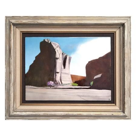 'Canyon De Chelly' Enamel by Irwin Whitaker