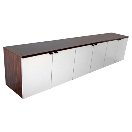 Wall Mount Credenza after Florence Knoll Mid-Century Modern, 1960s