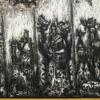 Nicolas Leiva Abstract Modernist Oil Painting on Canvas Titled Yemaya Brutalist